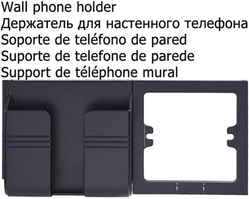 Type : Phone holder black Wall socket Cargador Universal De Toma De Corriente Est/ándar USB 2.1A Enchufe De La Pared La Pared Del Hogar Del Cargador De 2 Puertos USB For El Tel/éfono Blanco Negro