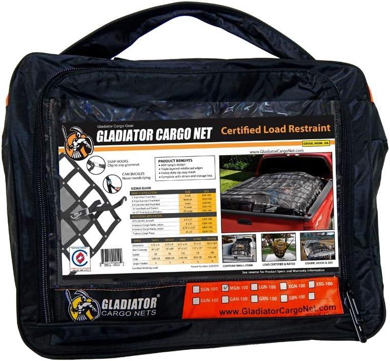 Waterproof Gladiator Cargo Net Heavy Duty Truck Cargo Net Tarp Medium