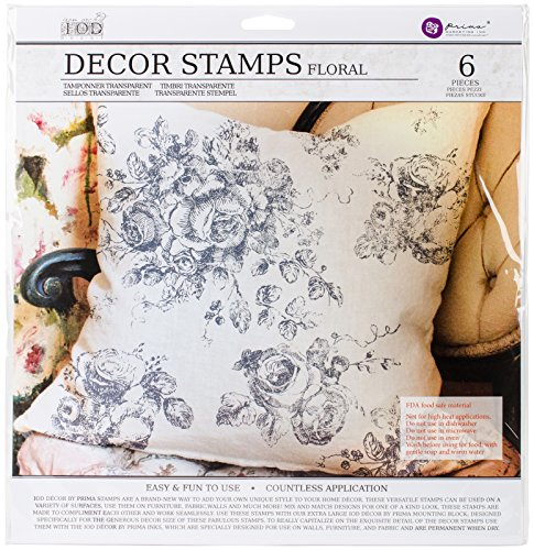 Prima Marketing Iod Decor Stamps-Floral by Prima Marketing