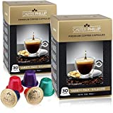 costa rica expresso coffee - Nespresso Compatible Capsules - Carter Phillip 60 Pod Variety Pack With Decaf - Gourmet Coffee Capsules - Fits Nespresso OriginalLine Machines - Best Value Nespresso Capsules Alternative (60)