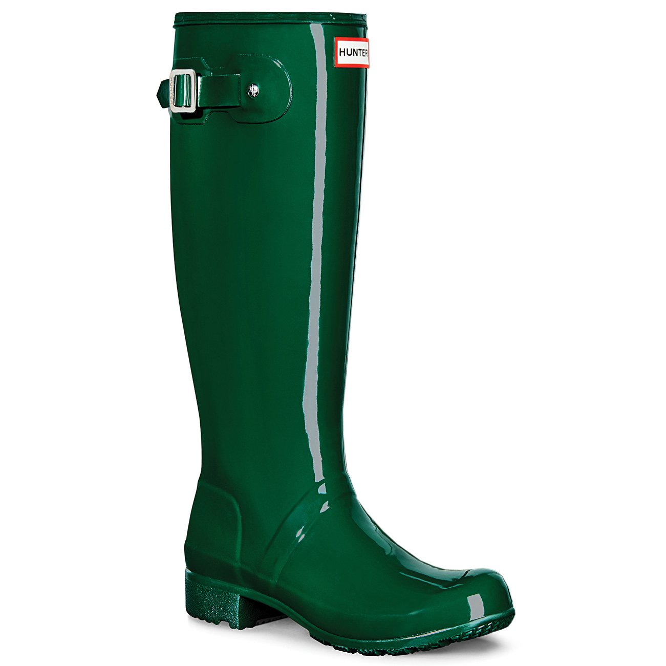 Hunter Womens Original Tour Gloss B00WPSZI0C 5 B(M) US|Hunter Green