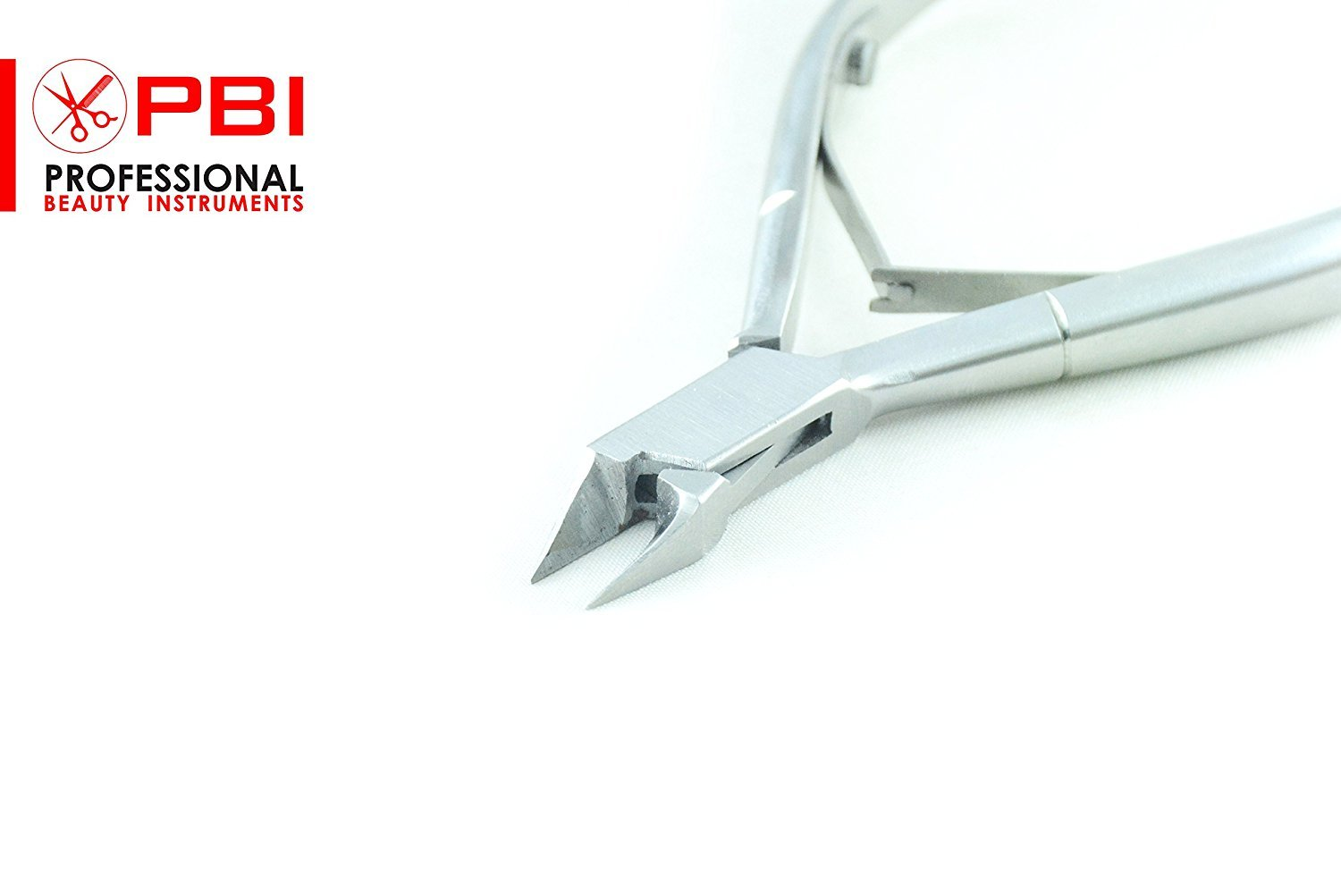PBI - Precision Nail Nippers for ingrown nails manicure pedicure Nail Clippers Premium Quality, double spring pliers - 4 inch Stainless steel with pouch 50 pieces set