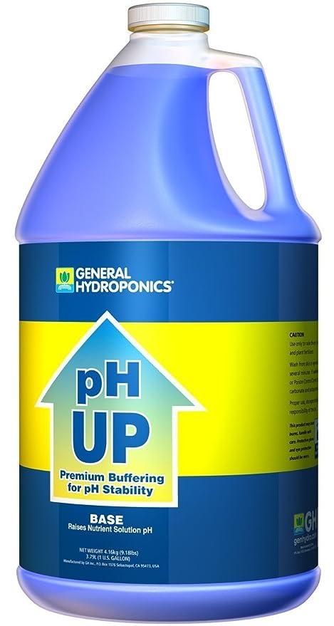 General Hydroponics pH Up Liquid Fertilizer, 1-Gallon