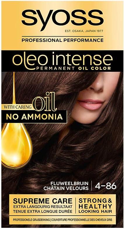 Syoss Color Oleo Intense 4-86 fluweelbruin - Tinte para el ...