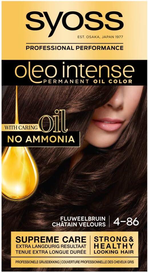 Syoss Color Oleo Intense 4-86 - Tinte de coloración para ...