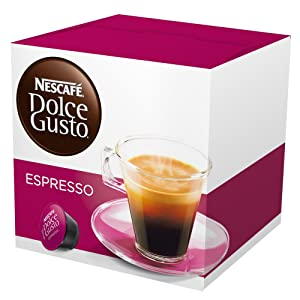 Nescafe Dolce Gusto for Nescafe Dolce Gusto Brewers, Espresso, 16 Count