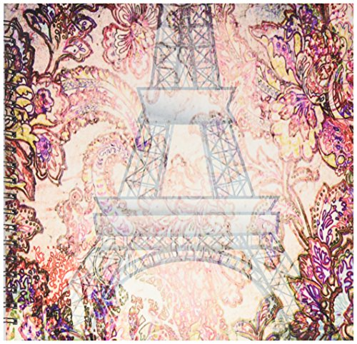 Eiffel Scrapbooking Tower - 3dRose db_59895_2 Paris Romance France Eiffel Tower Art Memory Book, 12 by 12-Inch
