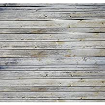 Neewer 5x7 feet/1.5x2.1 meters 100 Percent Polyester Striped Wooden Photography Backdrop Background, Vintage Wood for Studio Video Shooting (Backdrop Only)