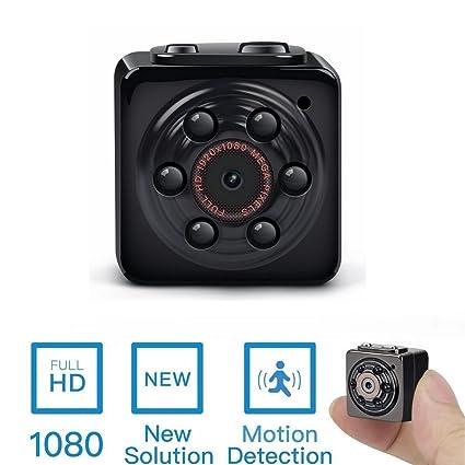 TenSky Mini cámara espía oculta, PANNOVO Deportes de mini cámara de vídeo DV HD 1080P 12.0 ...