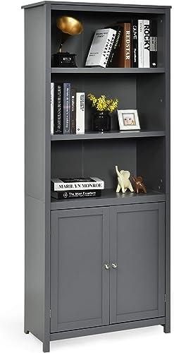 Cheap Tangkula Bookcase Modern Bookcase  modern bookcase for sale