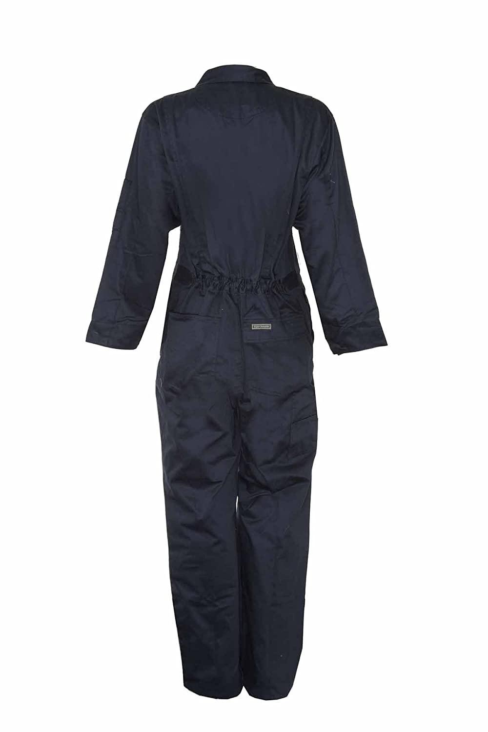 Champion Mens Classic Heavy Duty Twill Boilersuit Overalls Navy Blue 36