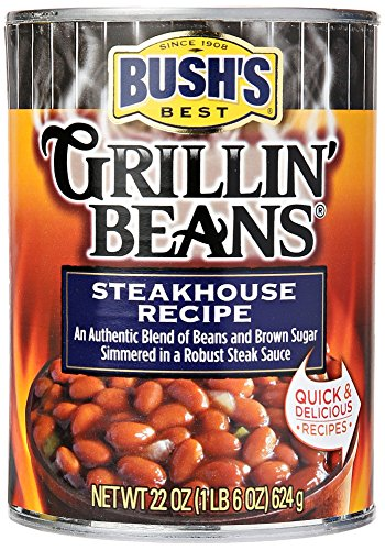 Bush's Best Steakhouse Grillin' Beans 22 oz