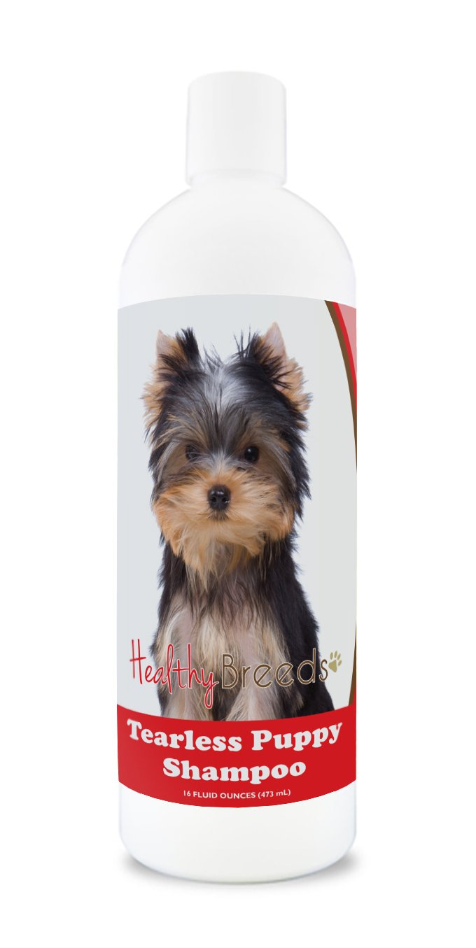 1. Healthy Breeds Tearless Puppy Shampoo & Conditioner - Best Yorkie Shampoo for Flea Control