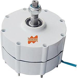 MarsRock 500W 900r/m 12/24/48V Permanent Magnet Generator AC Alternator