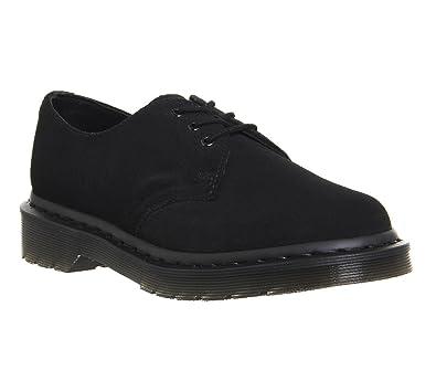 Dr. Martens 1416 Shoe Black Suede Exclusive - 8 UK