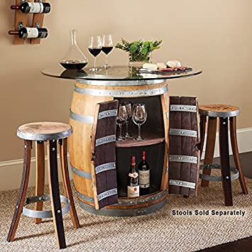 Recycled Barrel Pub Table #17438
