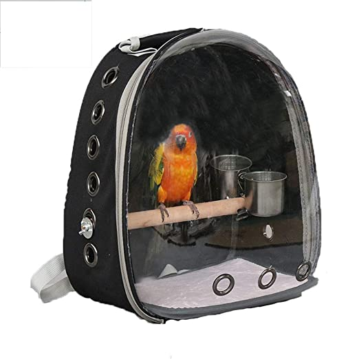 YC electronics Jaulas para pájaros Mochila Simple Jaula de pájaros ...