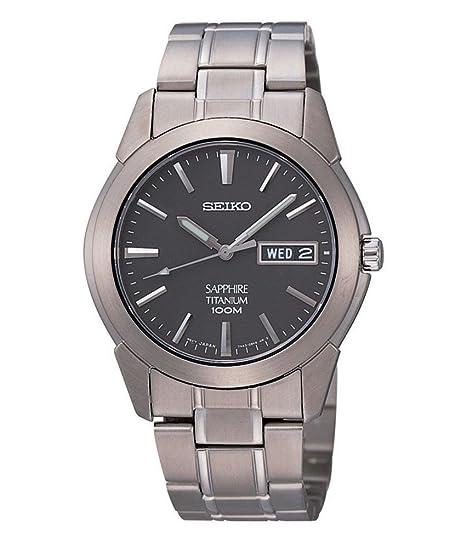 Seiko SGG731P1 Horloge Heren – grijs – Titanium