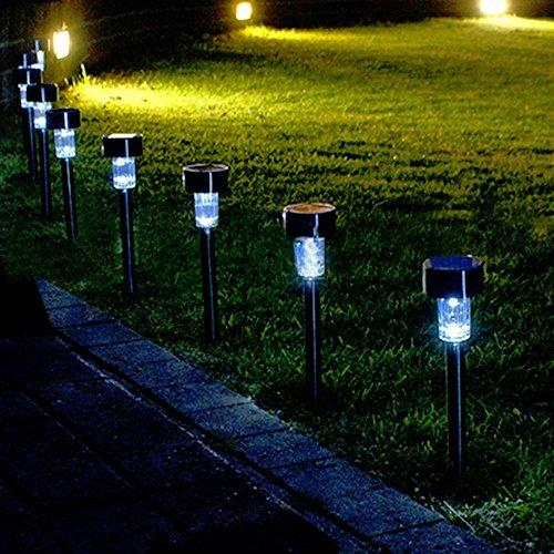 Best Solar Landscape Lights 2019: Solar Lights Outdoor, [12Pack] Path Lights, Yard Night