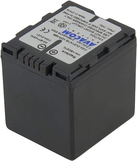 BATTERIA per Panasonic nv-gs17ef-s vdr-d158gk nv-gs280eb-s vdr-d300 vdr-d100 VDR