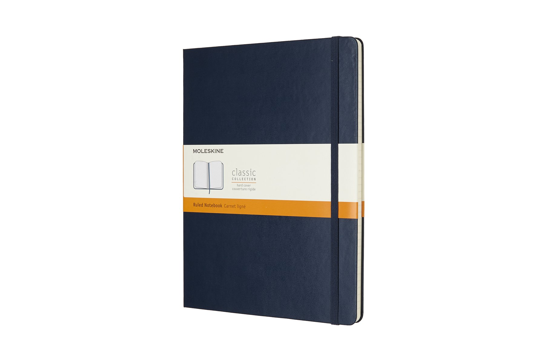 Moleskine Classic Hard Cover Notebook, Ruled, XL (7.5 x...