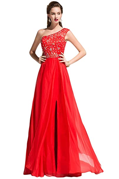 Sunvary - Vestido de novia - Mujer rojo 2 mes