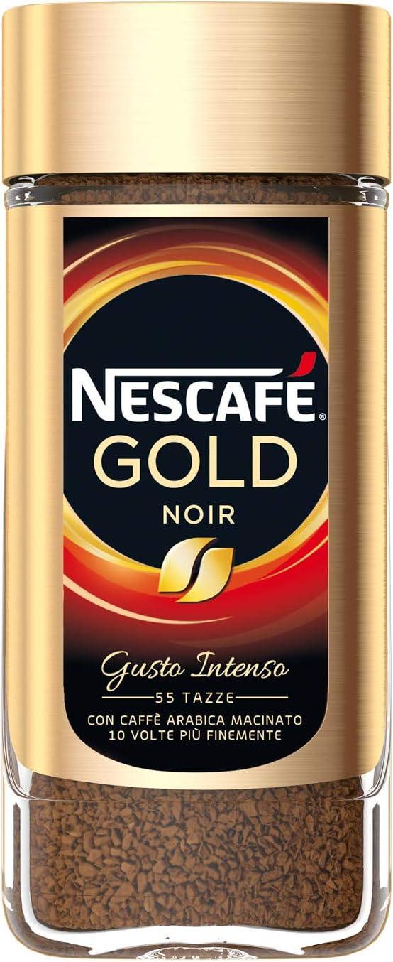 Nescafé Gran Aroma Noir Caffè Solubile 6 Barattoli Da 100g 600g Amazon It Alimentari E Cura Della Casa