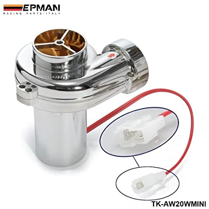 epman Turbo Kits mini electric Turbo Supercharger Kit Filtro de Aire de Admisión para todas COCHE motocicleta (20 W): Amazon.es: Coche y moto