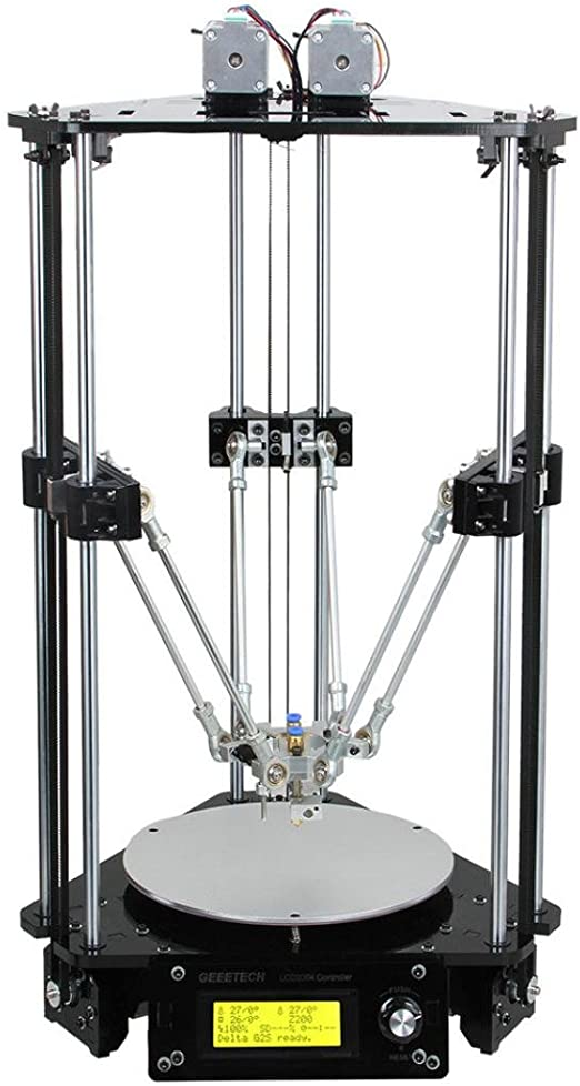 geeetech 3d impresora, qisc Kossel Delta Rostock G2S doble MK8 ...