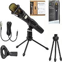 Kit Microfone Estúdio Profissional Suporte VEDO VD-1 Bm800