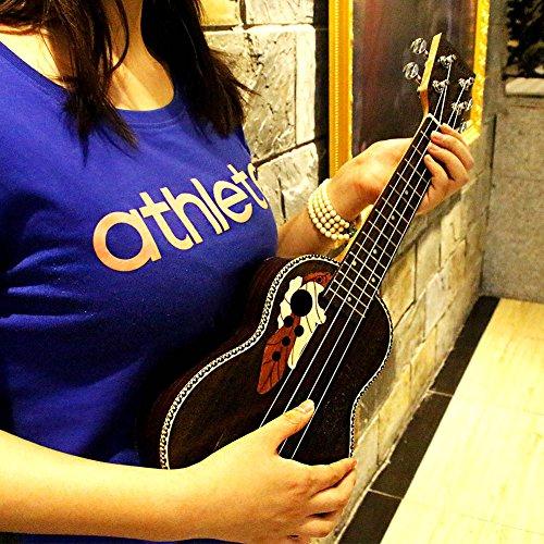 HQS-21-Ukull-Soprano-Uke-15-Frets-4-Ficelle-de-Instrument-de-musique