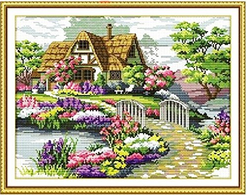 colorful cross stitch pattern amazoncom