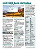 macOS High Sierra Introduction Quick Reference Guide (Cheat Sheet of Instructions, Tips & Shortcuts - Laminated Guide)