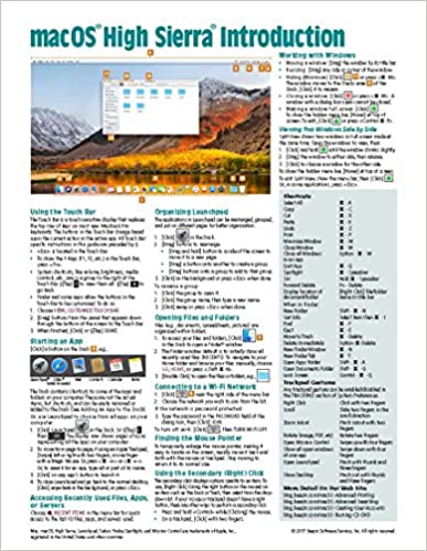 read pdf macos high sierra introduction quick reference