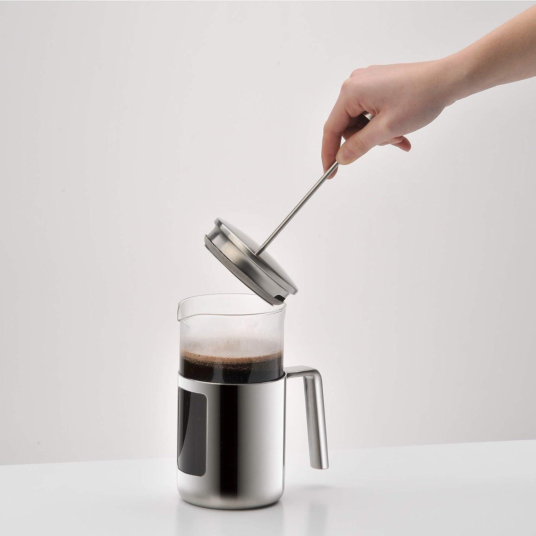 WMF Kult Cafetera de pistón, Acero Inoxidable Mate: Amazon.es: Hogar
