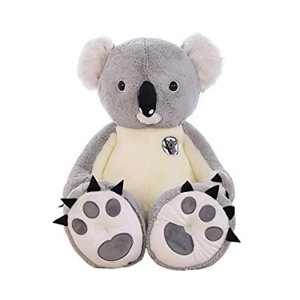 Amazon Com Seemehappy 55 Giant Koala Bear Stuffed Toy Fluffy Koala