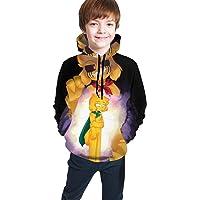 maichengxuan Mikecra-CK Impresión Digital 3D de Moda, Suéter con Capucha para Adolescentes Sudadera con Capucha Cómoda…
