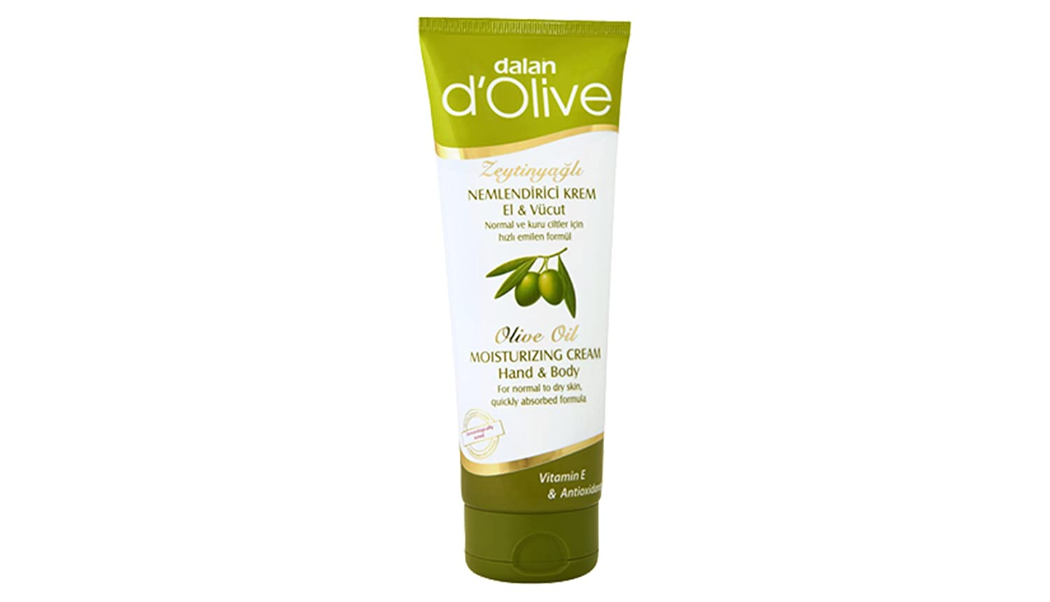 Dalan Dolive Moisturizing Hand& Body Cream 250 ml (8.4 oz) by dalan d'Olive