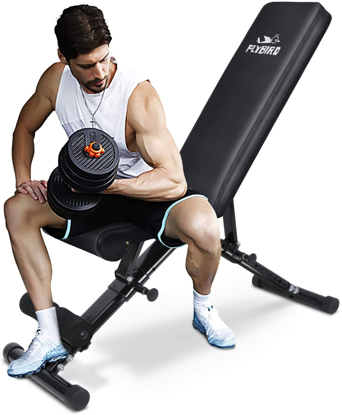 Best portable weight-bench: FLYBIRD Weight Bench 2020 Version