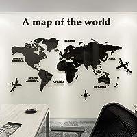 Acryl 3D Wereldkaart Muurschilderingen Stickers Achtergrond Kunst Decoratie Decor Poster Muurschilderingen Stickers…