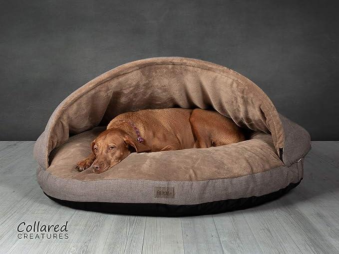 Cuello criaturas perro Cueva Cama, cama de perro, extra grande 1140 mm (45
