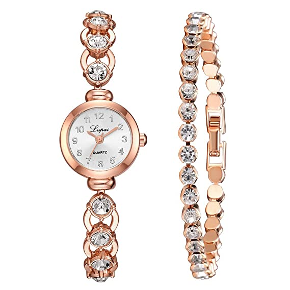 DAYLIN Relojes Mujer de Moda en Oferta Reloj Pulsera Oro Rosa ...
