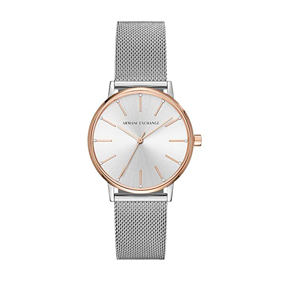 Armani Exchange AX5537 Reloj de Damas: Amazon.es: Relojes