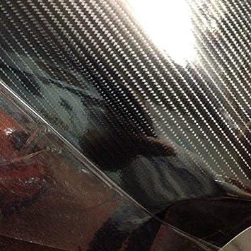 152cm x 50cm Pellicola Wrapping Carbonio 5D EXTRA LUCIDO alta qualit/à 152cm StickersLab