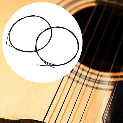 broadroot ukelele stringstransparent Reemplazo Guitarra Cuerdas de nailon parte