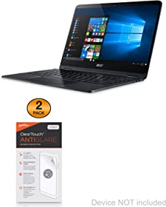 Acer Spin 7 (SP714-51) Screen Protector, BoxWave [ClearTouch Anti-Glare (2-Pack)] Anti-Fingerprint Matte Film Skin for Acer Spin 7 (SP714-51)