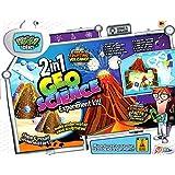 Grafix 2en1 Geo Science Magie Sable & Volcan Expérience éducatif pour enfants Kit