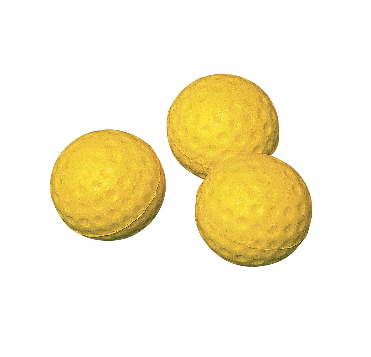 Sportime Safety Golf Ball - Indoor Outdoor Practice Balls - Pack of 12