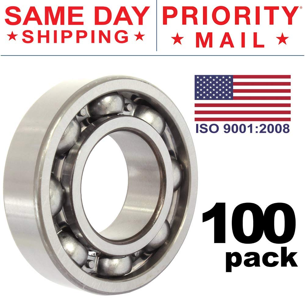100 PCS LOT 608 Bearing Fidget Spinner Ball Center Replacement Kit Chrome Steel