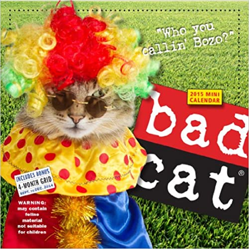 Bad Cat 2015 Mini Calendar